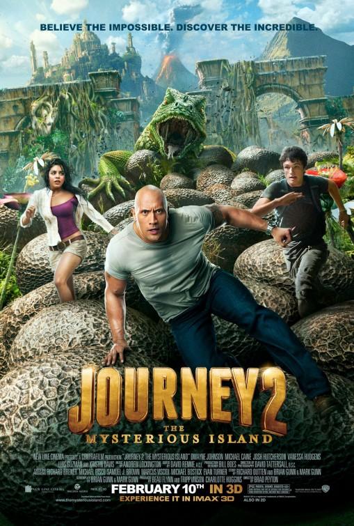 Putovanje u središte zemlje 2: Tajanstveni otok (JOURNEY 2.MYSTERIOUS ISLAND)