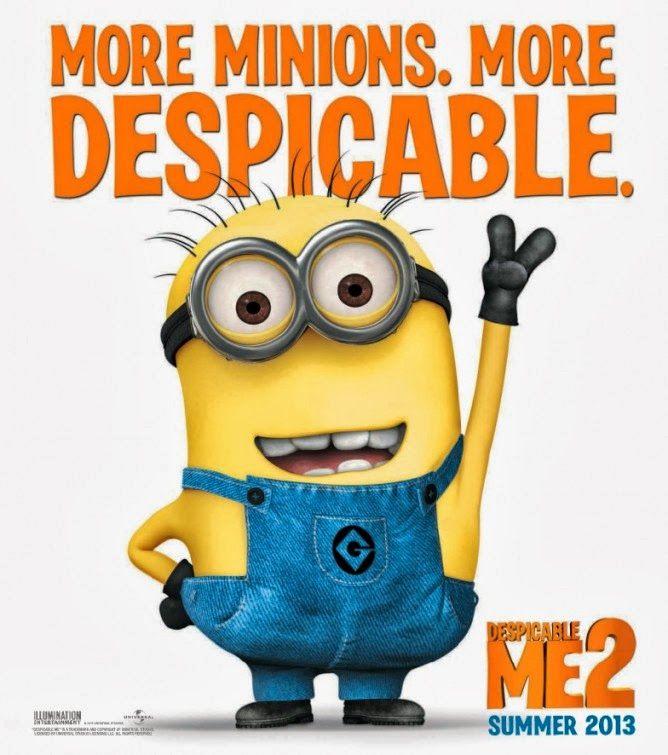 Grozan je (DESPICABLE ME 2)