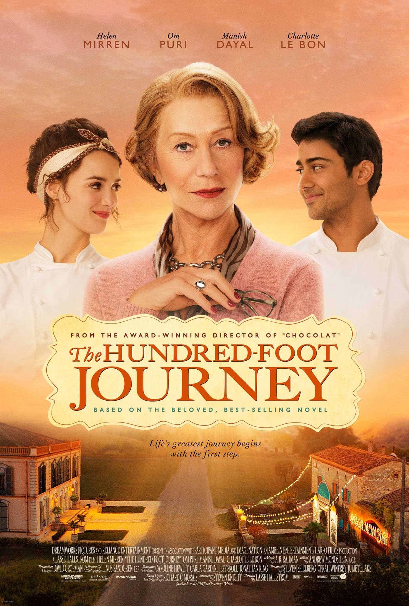 Indijski začin na francuski način (The hundred foot journey) 2014