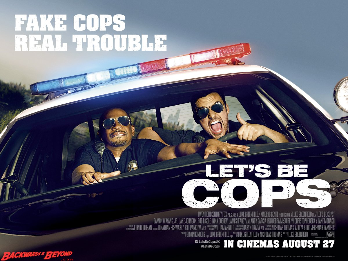 Hajde da budemo panduri (Let's be cops) 2014