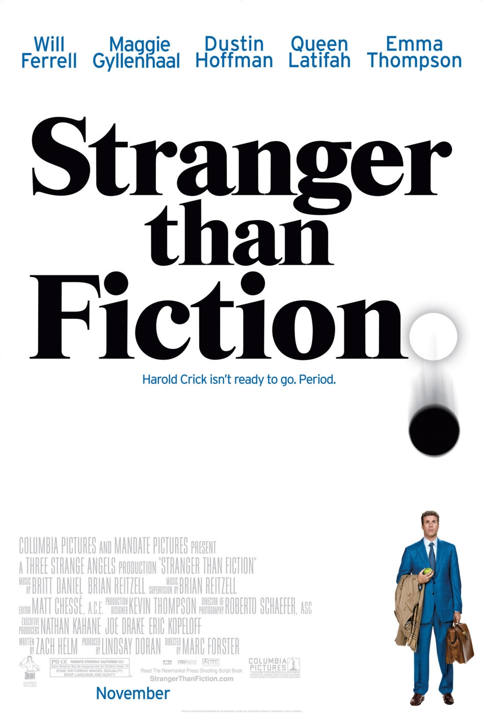 Čudnije od fikcije (Stranger than fiction) 2006