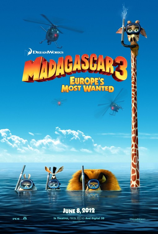 MADAGASKAR 3: Najtraženiji u Evropi (MADAGASCAR 3:EUROPE MOST WANTED)